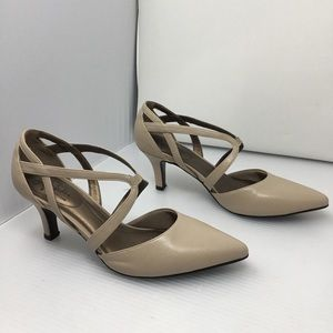 Life Stride Seamless Strappy Pumps